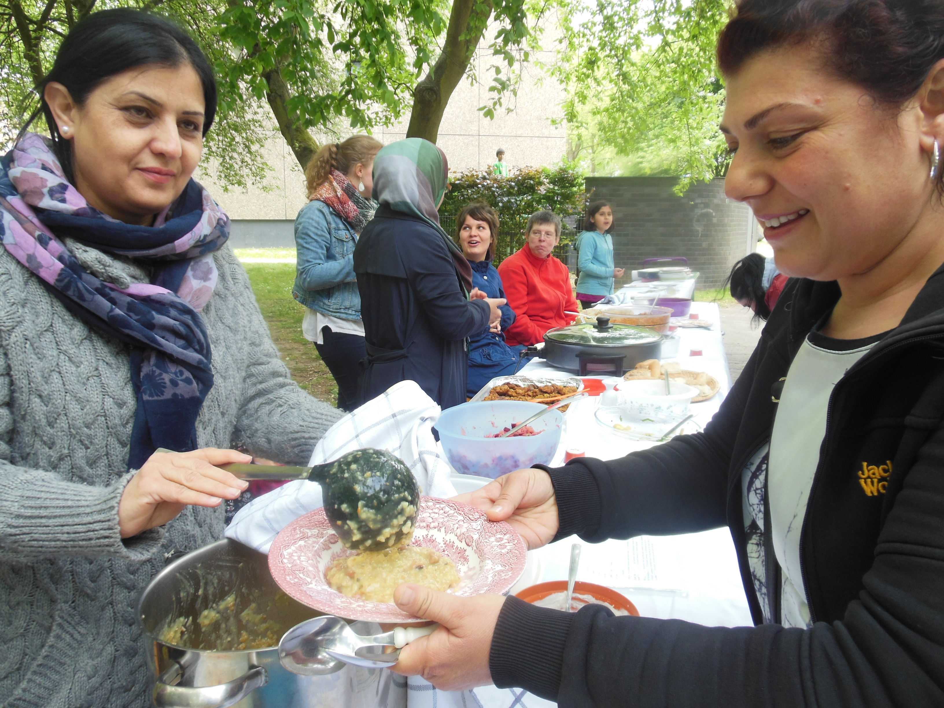 29.Mai, Vegetarisches Picknick